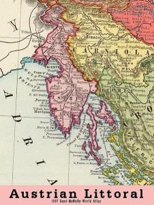 Sjeverni djel Austrijskoga Jadrana.